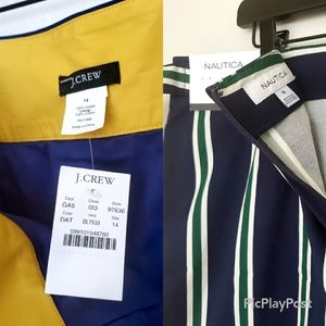 NWT skirt bundle j crew nautica